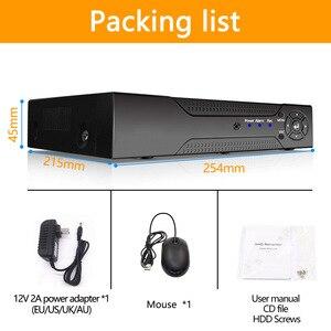 Image 5 - 5 1 で 8ch * 1080N AHD DVR 監視セキュリティ CCTV ビデオレコーダー DVR ハイブリッド DVR 720/ 960 H アナログ AHD CVI TVI IP カメラ