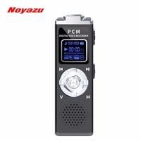 Noyazu U60 8GB Fast Charging Noise Reduction Professional Digital Voice Recorder Mini Audio Recorder Dictaphone Pocket