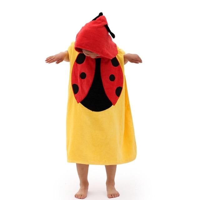 Animal Baby Hooded Bathrobe