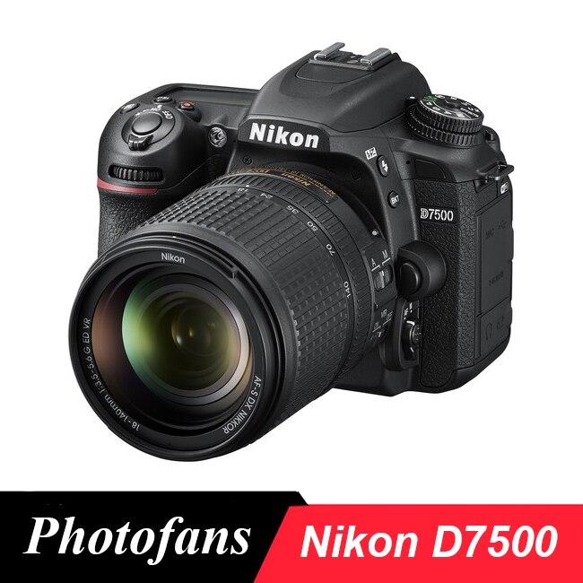 D7500 DSLR Camera com 18-140mm Lente Nikon