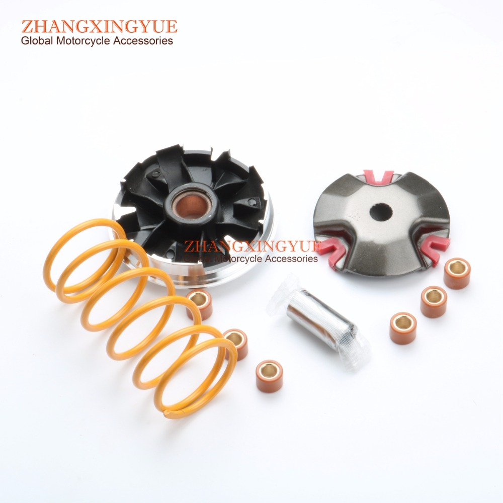 1500 RPM 2000RPM Torsion Springs Performance 18mm Variator Set W 7g Rollers For YAMAHA Scooter Minarelli