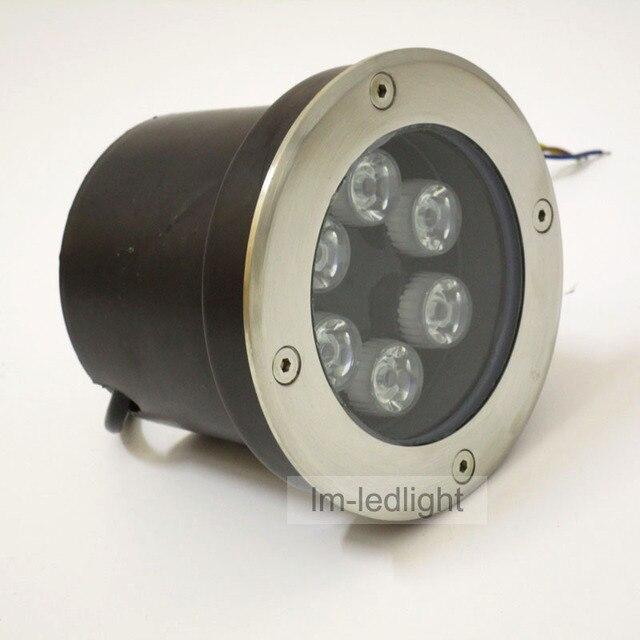 Wholesale IP67 led floor lamp 6W 85 265V dia120mm led recessed spot ...