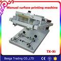 Hand Bildschirm Zylinder Druckmaschine für Flasche/Tasse Oberfläche Kurve Siebdruckmaschine-in Werkzeugteile aus Werkzeug bei