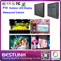 p10 led display screen cabinet with epistar chip module outdoor led video wall rgb led display advertising billboard open sign