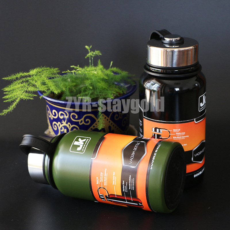610ML water bottle sport outdoor bottles stainless  304 material drinking bottle with detachable tea filter  free shipping