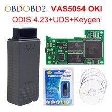 OKI Full Chip VAS 5054A VAS5054A ODIS V4.23 With UDS Protocol VAS5054 Keygen V4.2.3 Multi-Languages VAS 5054 Free Ship