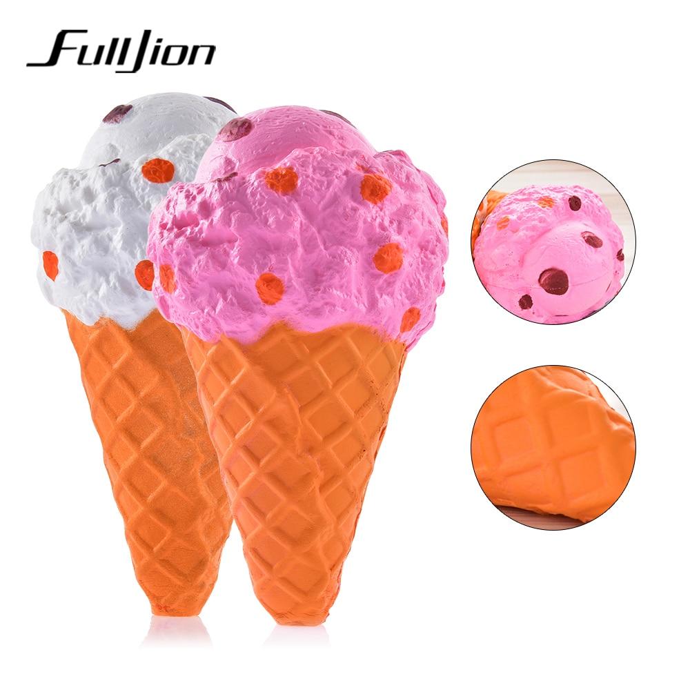 Antistress Stress Relief Toys Squishes Ice Cream Squishy Slow Rising Lizun Soft Prank Fun Popular Children Gags Practical Jokes