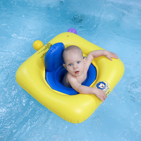 Baby Swim Ring Infant Inflatable Seat Floating Kids Swimming Pool Accessories Bathing Raft Children Swim Trainer Baby Float Toy