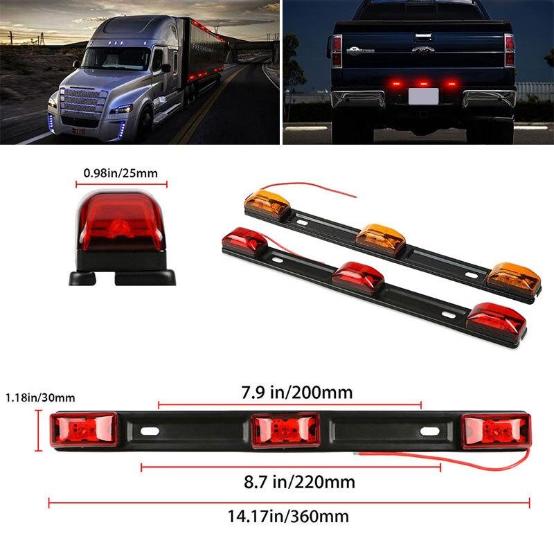 Vehemo 12 в автомобили Боковой габаритный фонарь боковые фонари RV прочные сигнальные огни звукосниматель задние фонари грузовик задние боковые лампы автомобильные аксессуары