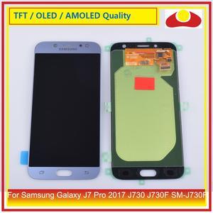 Image 5 - 50 pz/lotto DHL Per Samsung Galaxy J7 Pro 2017 J730 J730F SM J730F Display LCD Con Pannello Touch Screen Digitizer Pantalla completo