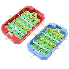 цена Mini Table Top Football Board Machine Football Table Game Home Match Gift Toy онлайн в 2017 году