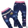 Бесплатная доставка розничной мальчика джинсы / брюки девушки попадают джинсовые брюки 2015829 X 3