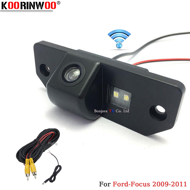 Koorinwoo Special HD CCD Car Rear View Camera Reversing Cam For Ford/Focus/Sedan/C-MAX/MONDEO 2009/2010/2011 Parking Assistance