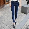 2017 Autumn Sexy Vintage Skinny Jeans For Women Fashion High Waist Slim Fit Woman Pencil Pants Ladies Denim Trousers A8004