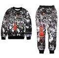 2015 Jordan Lore NO.23 impresión 3d juego de sudor del chándal hombres / mujeres joggers + sudaderas con capucha set outfit ropa gran tamaño S-XXL envío gratis