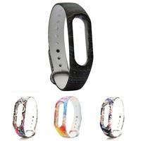 Watch Strap For Xiaomi Miband 2 New Fashion Pattern TPU Smart Wrist drop shipping 0728