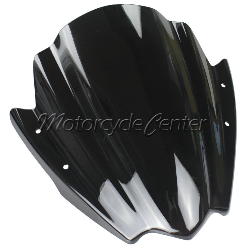 Motorcycle Street Bikes Wind Deflectors Windshield Windscreen For 2006-2014 Yamaha FZ1 FZ1N FZ6 S2 FZ8 FZ 6 8 Dark Smoke 08 12 motorcycle street bikes wind deflectors windshield windscreen for 2006 2014 yamaha fz1 fz1n fz6 s2 fz8 fz 6 8 dark smoke 08 12