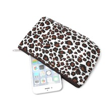 2018 Sexy Ladies Leopard Print Women Travel Cosmetic Bags Toiletry Wash Organizer Fashion Zipper Makeup Bags(China)