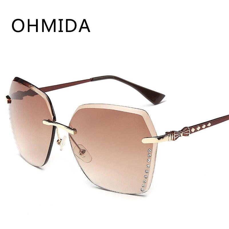 OHMIDA Len óculos de Sol Dos Homens Das Mulheres Marca de Luxo Designer de  Óculos de Sol Masculino Feminino Espelho Nova Moda Eyewear Oculos de sol  Gafas f45955842d