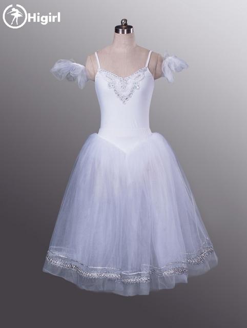 c76f78a3823 white swan lake giselle ballet tutu dress romantic ballet tutu for girls  ballerina dress kids giselle ballet costumes BT8954