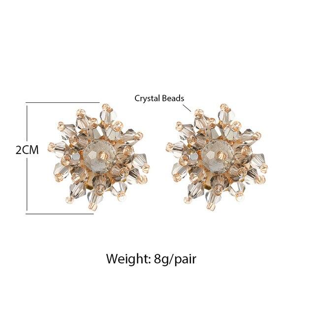 Купить женские серьги гвоздики в форме цветка inkdew винтажные ручной