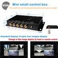 ИК управления Несколько Камеры Изображения Переключатель Control Box Передняя/Задняя/Влево/Вправо Вид Парковочная Система Видео управления 2 3 4 Камеры