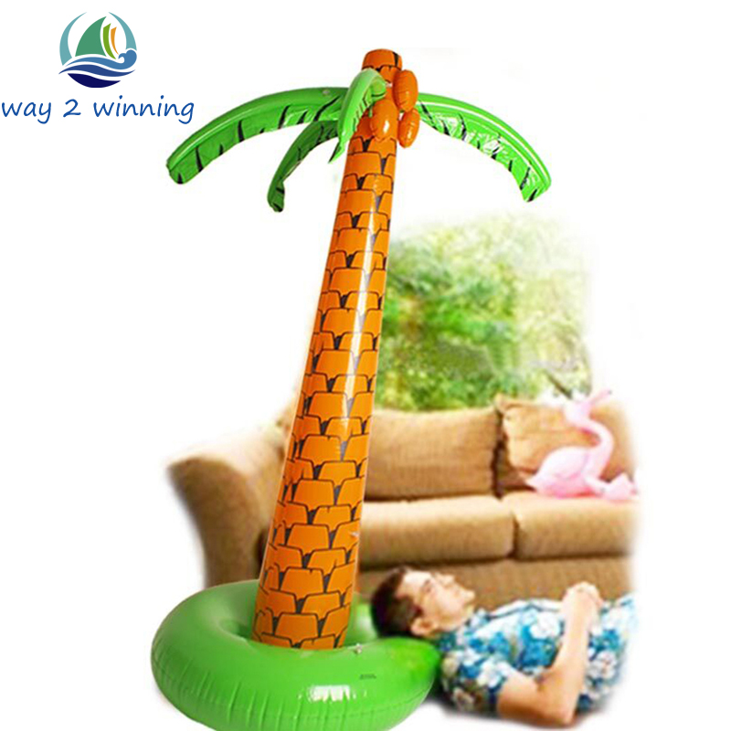 1,6 M 1,8 M Stand Up Giant Inflatable Hawaiian Palm Tree Ballons Party Decoration Dzień Boks Dostawa Hot Helium Ballon Mariage Hot