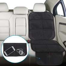 126 * 48cm Car Seat Cover Baby  Rear Children Oxford Cotton Luxury Leather Protector Auto Interior Machine For Children Cover