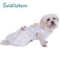 ペット犬服ドレススカート子犬子猫と結婚衣装既婚ウェディングドレスパーティープリンセスレース服用ワンワン犬キテ
