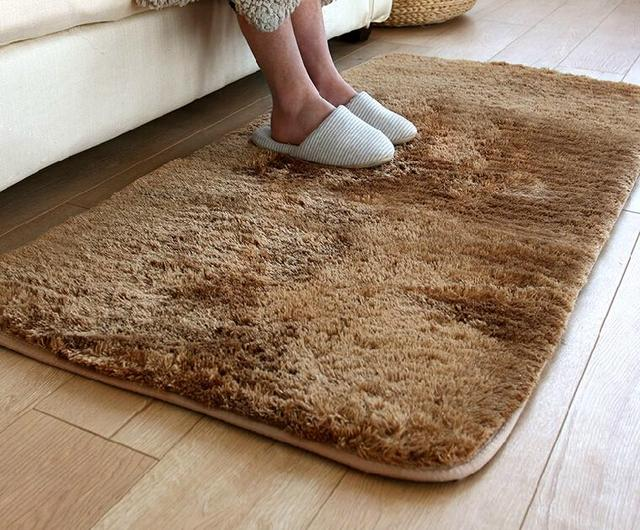 High Quality Gy Soft House Floor Carpet Washable Bedroom Living Room Rug Entry Mat