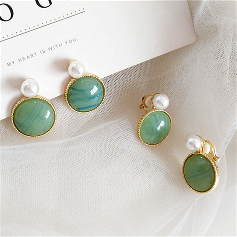 Chinese wind restoring ancient ways metal geometry earrings trend Ms fashion decoration wholesale