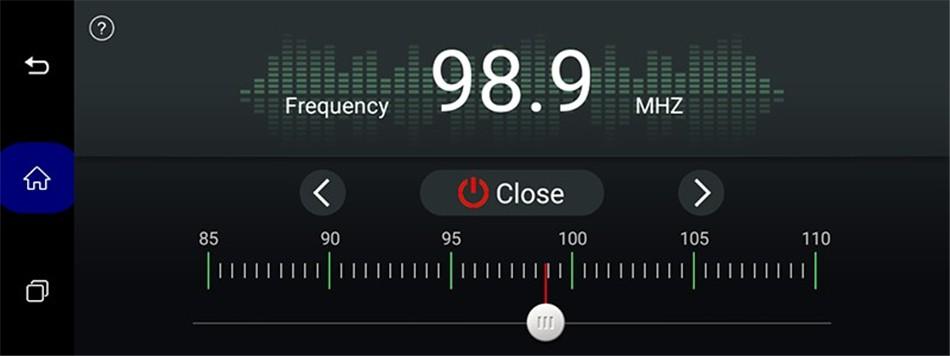 5. FM transmitter function