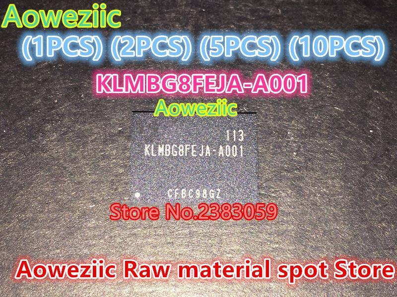 Aoweziic (1PCS) (2PCS) (5PCS) (10PCS) 100% New original  KLMBG8FEJA-A001  BGA  Memory chip  KLMBG8FEJA  A001 aoweziic 5pcs 100