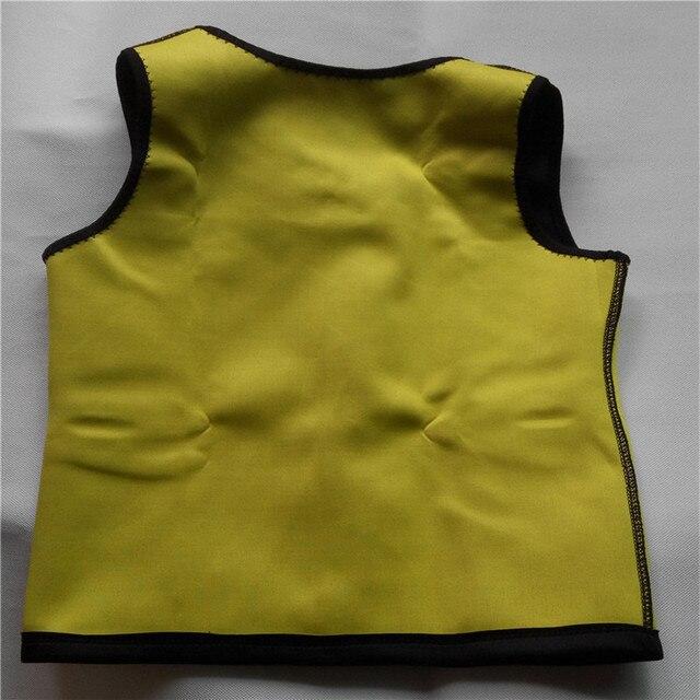 Men Slimming Vest Neoprene Shaper Sweat Thermal Belt Body Shaper Posture Trimmer Waist Abdomen Trainer Corsets  Shapers 3