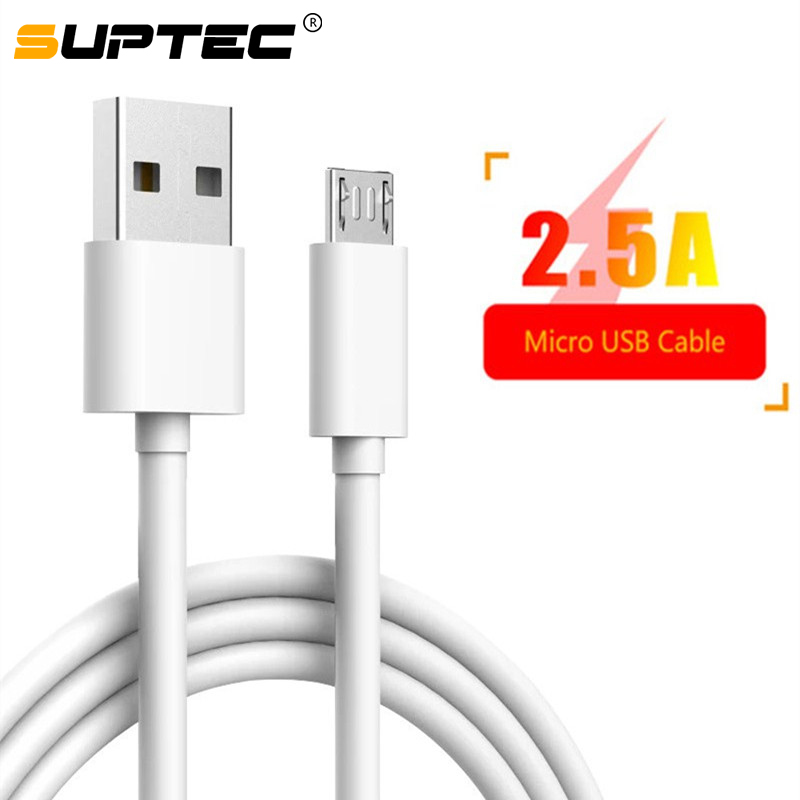 SUPTEC 3m Micro USB Cable for Sony LG Huawei Xiaomi Redmi Samsung A7 Android Phone Charger Adapter Cord Fast Charging Data Cable|Mobile Phone Cables|   - AliExpress