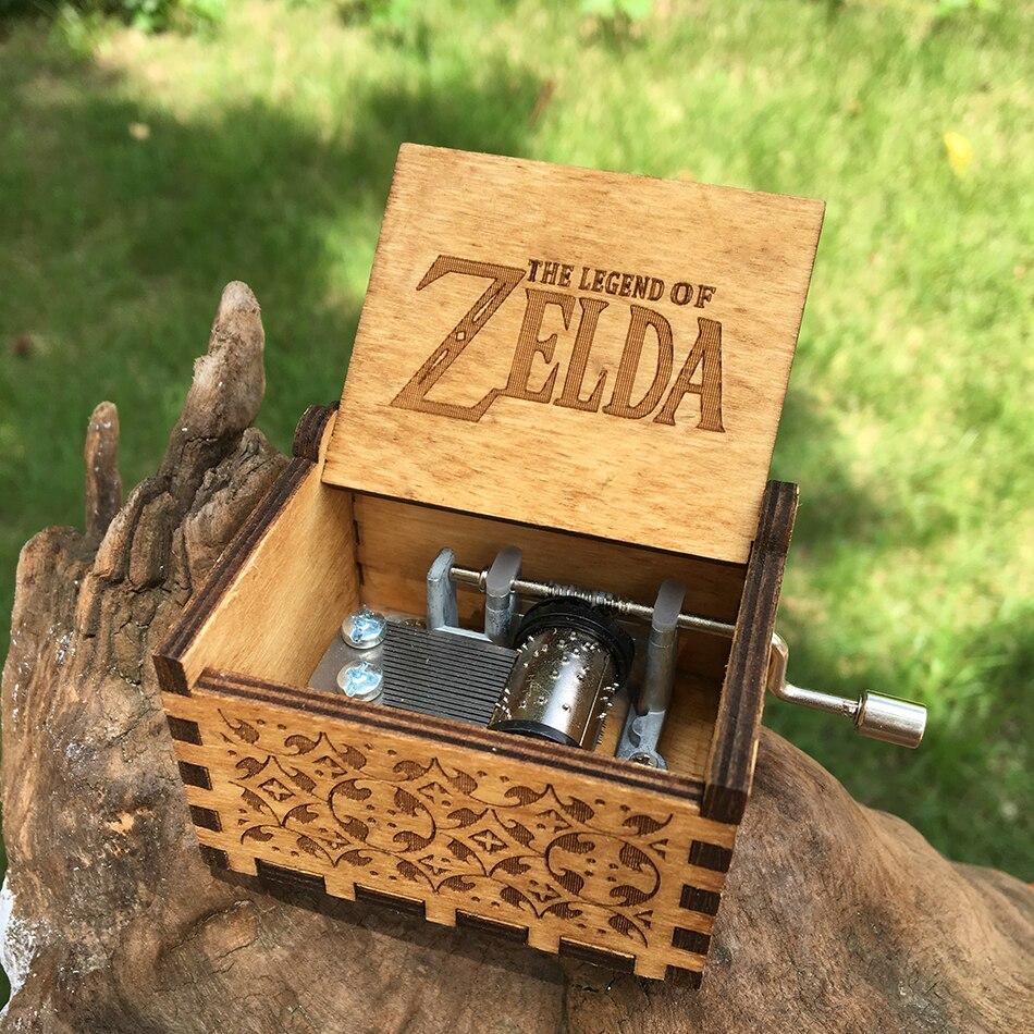 2018 NEW The Legend of Zelda Music box hand crank Musical boxes Star Wars Christmas birthday gifts Caixa De Musica