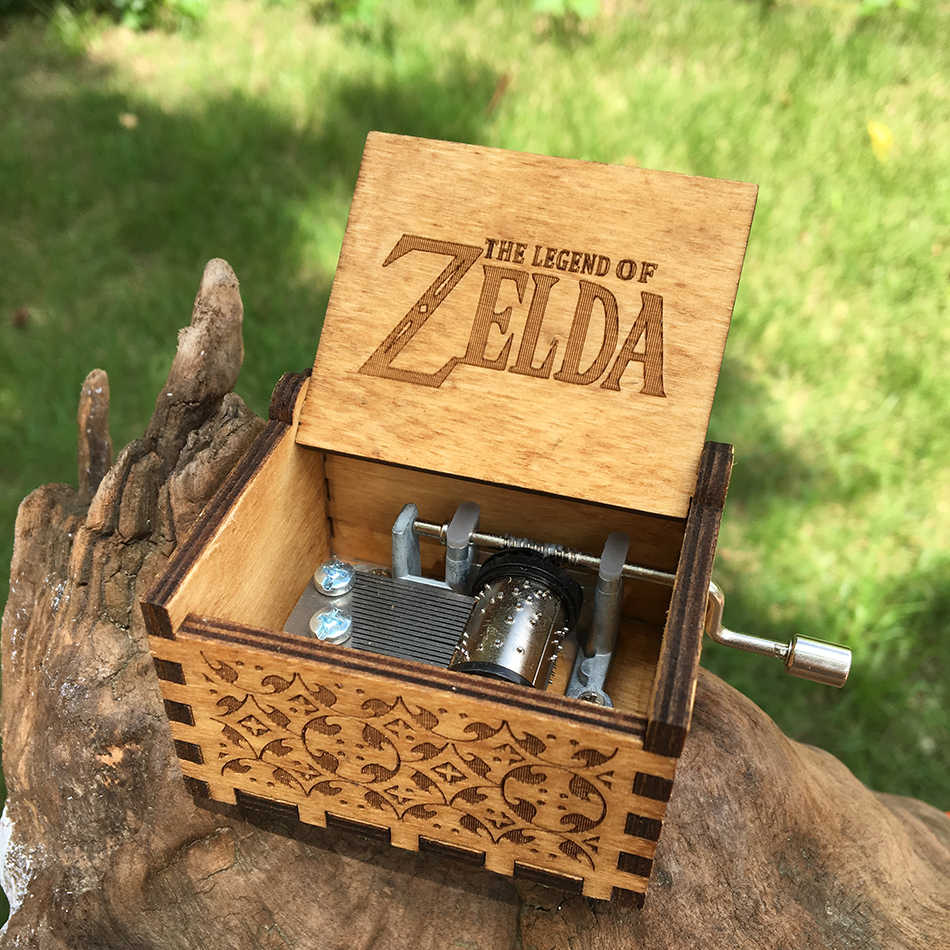 2018 NEW The Legend of Zelda Music box  hand crank Musical boxes Star Wars Christmas birthday gifts Caixa De Musica
