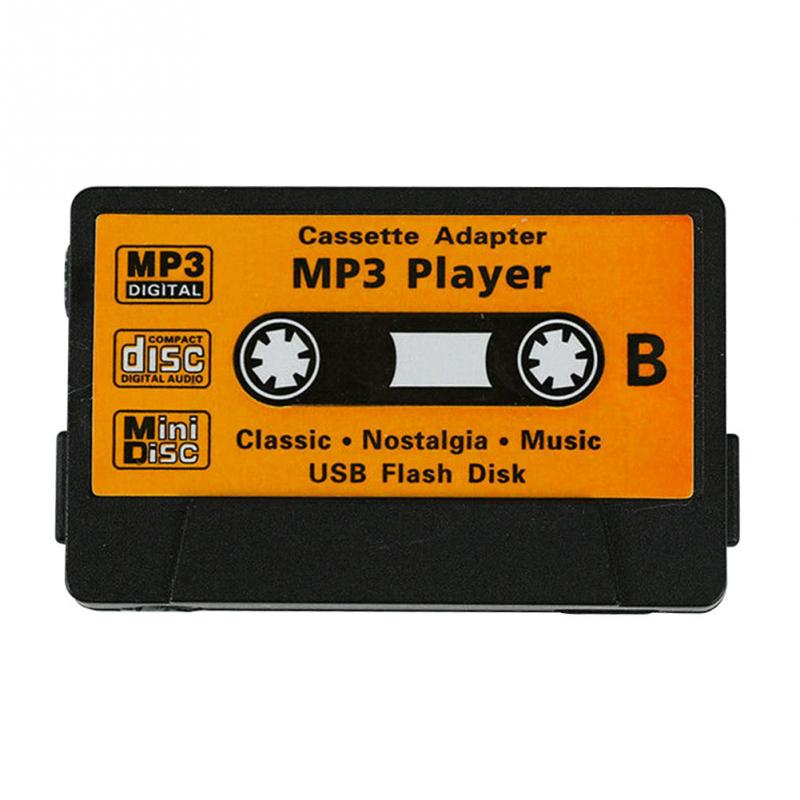 Tape Shape Cute Radio Mini Kids Rechargeable USB Port Retro MP3 Player TF Card