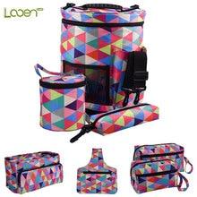 Looen 7 Styles Yarn Wool Storage Bag DIY Case For Crochet Hook & Sewing Tools Accessories Empty Kintting Women