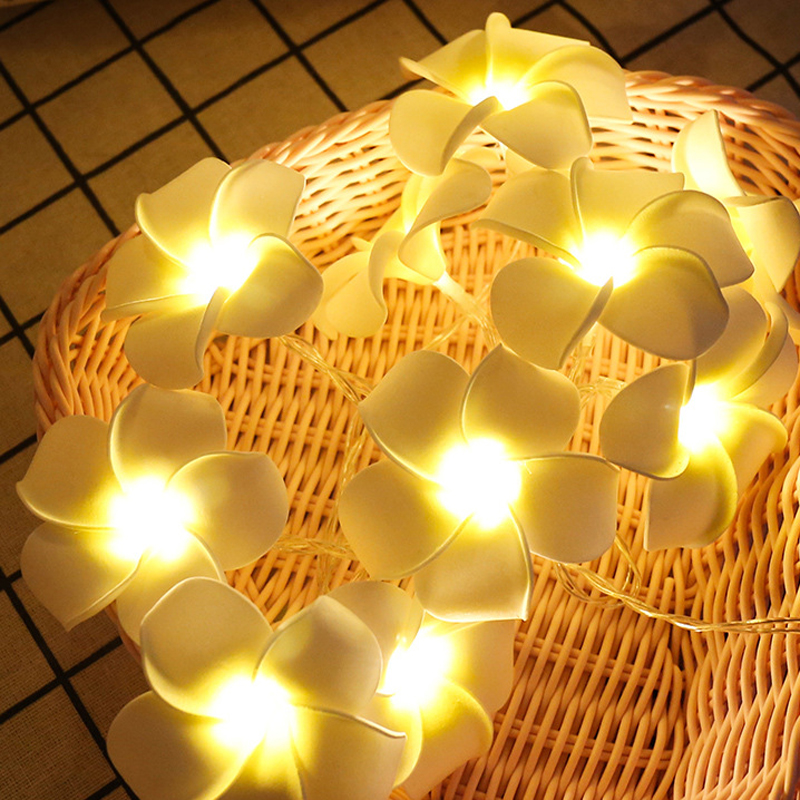 10 Led 20 Leds Romantic Rose Flower String Light For Holiday Wedding Xmas New Year Home Dedroom Table Decor AA Battery Garland (5)