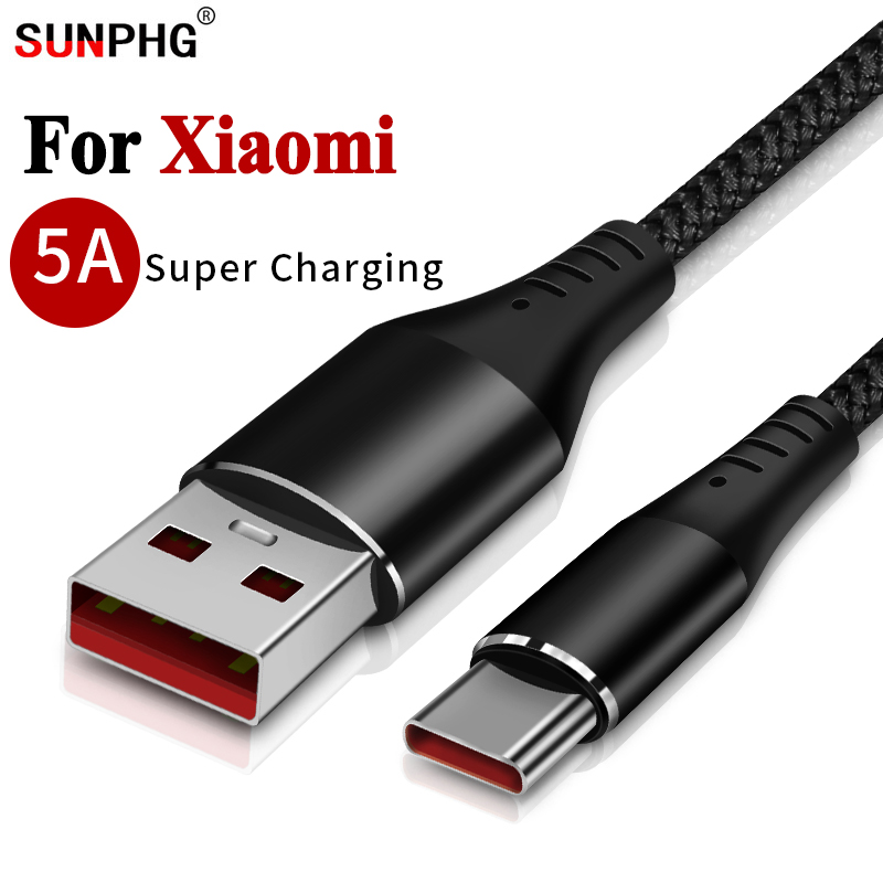 Diplomatic 5a Phone Cable For Xiaomi Type C 6 6x 8 Se Max Mix 2 3 5x 5s Ksiomi Plug Charger Adapter Xiomi Xaomi 5s Plus 5c Super Fast Line Elegant In Smell