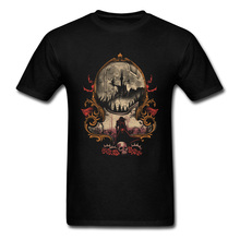 The Vampires Killer Tshirt Men Black T Shirt Goth T-shirt Halloween Stylish Tops Cotton Tees Birthday Gift Clothes 2018 Hot Sale