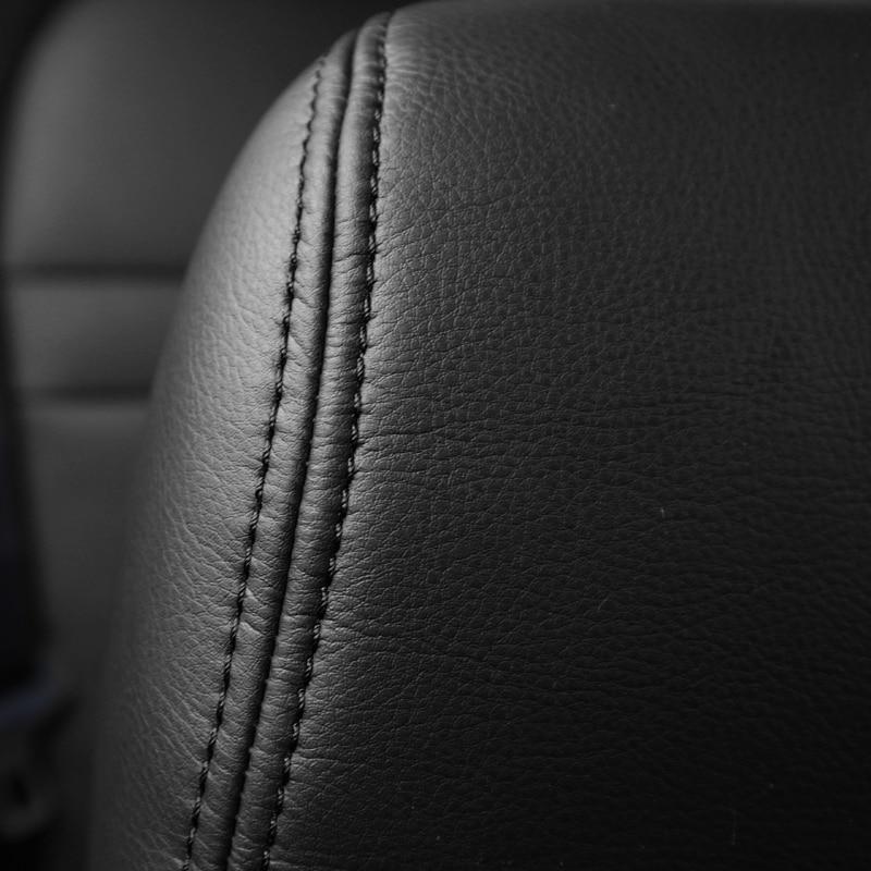 Usnjena sedežna prevleka za Toyota RAV4 PRADO Highlander COROLLA - Dodatki za notranjost avtomobila - Fotografija 5