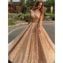 33856a32f7b Custom Made Sweet 16 Dress robe de soiree longue abiye Elegant Sequins Formal  Dresses abendkleider Evening
