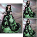 19 Century  Civil War Southern Belle Gown evening Dress/Victorian Lolita dresses/scarlett dress US6-26 SC-838