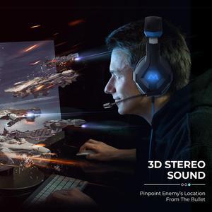 Image 5 - Mpow EG9 سماعة رأس ستيريو للألعاب 40 مللي متر السائقين مع هيئة التصنيع العسكري في خط ملون للتحكم سماعات الألعاب لينة سماعة الأذن ل PS4 التبديل الكمبيوتر Xbox