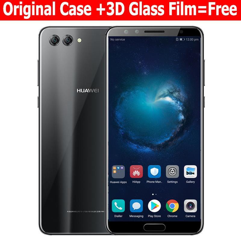 Huawei Nova 2 S 4G 6 4G оригинальный мобильный телефон Octa Core 6,0 дюймов 2160×1080 P двойной спереди и сзади отпечаток пальца камеры ID NFC