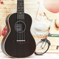 23 inch Black Ukulele Full Rosewod Concert  4 Strings Hawaii Ukulele Children Small Guitar Musical Instruments Birthday Gift