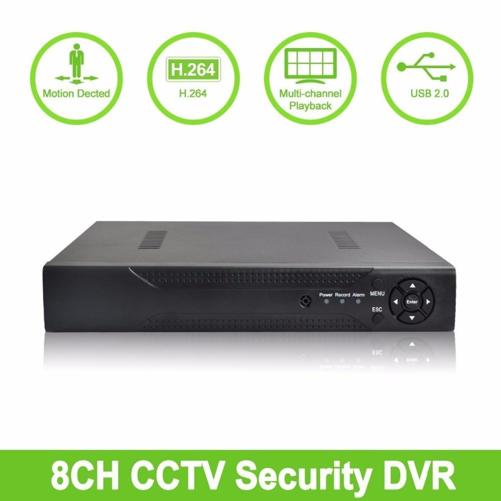 1pcs Multifunction 960H/D1/Network PAL/NTSC adjustable 8CH HD DVR NVR video recorder compatible device for surveillance system. 1pcs multifunction ahd tvi cvi analog network pal ntsc adjustable 8ch 1080p dvr and nvr video recorder for security system