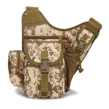 Tactical Saddle Bags Camouflage Breathable Waterproof Multifunction Shoulder Bag Outdoor Adventure Photography Chest Pack цены
